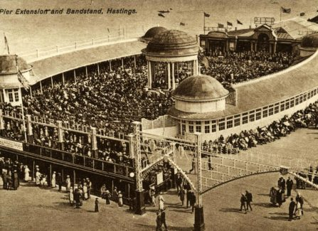 Pier extension and Bandstand,1920s