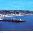 Aerial colour post card of Hastings Pier