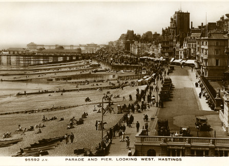 Hastings and St Leonards Piers, 1920s