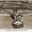 Aerial view of Hastings Pier, 1936