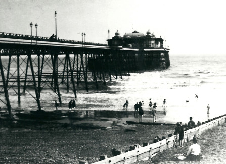 Early Pier View from the West Beach