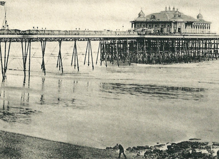 The original Pier with pavilion