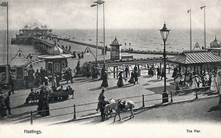 Early view of the Pier