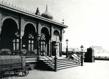 The Victorian Pier pavilion