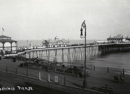 View of the Pier from the promenade