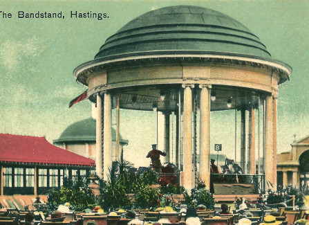 The Pier bandstand, 1916-1932