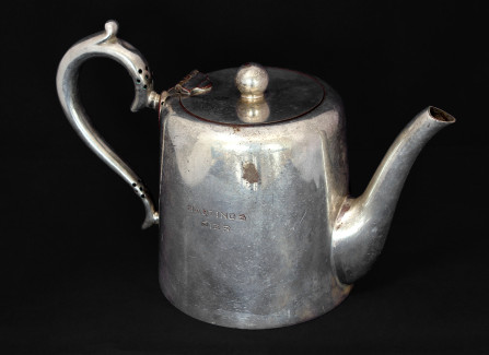 Teapot from Hastings Pier tearoom