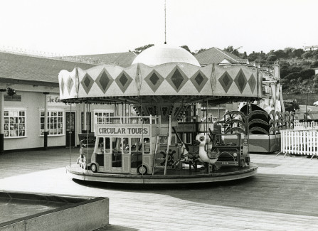 Children's merry-go-round on the Pier