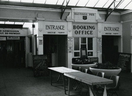 The Pier entrance in the 1980s
