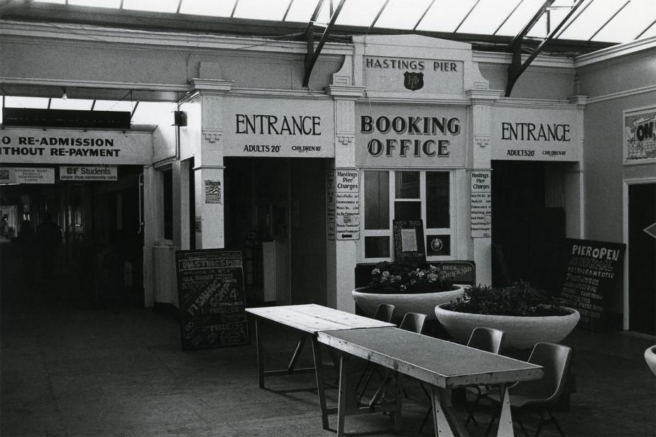 Photograph of the Pier entrance