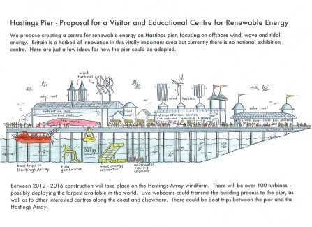 Hastings Pier - Proposal for  Visitor & Educational Renewable Energy Centre