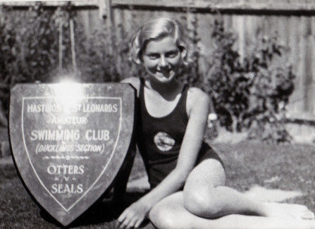 Hastings and St Leonards swimming club member
