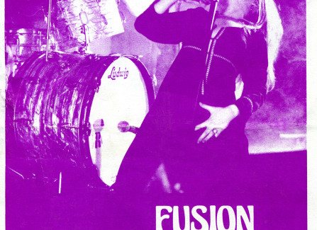 Poster for Fusion Orchestra gig