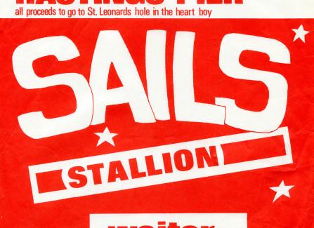 Flyer for Sails gig