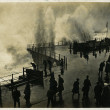 1908 storm on Hastings seafront