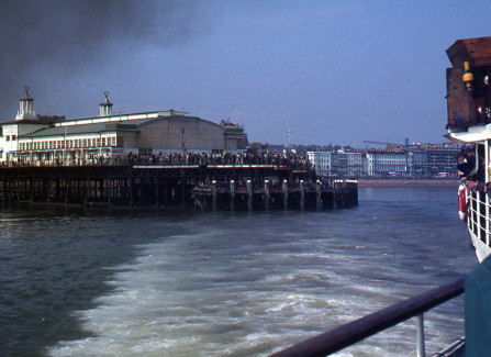 Photos of the Pier taken from P. S. Waverley