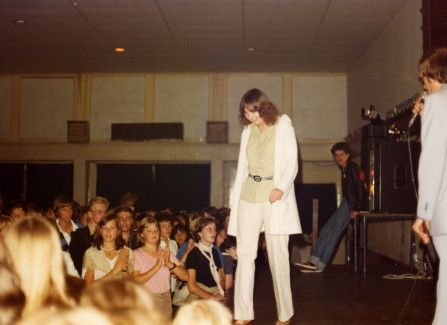 EF Language School Disco in the Pier ballroom, 1978