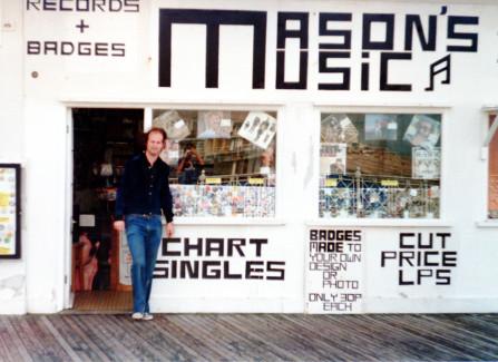 Mason's Music Shop on the Pier
