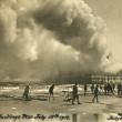 Hastings Pier on Fire, 1917