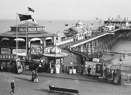The Pre-WW1 Pier, with Joy Wheel and Bowling Alley