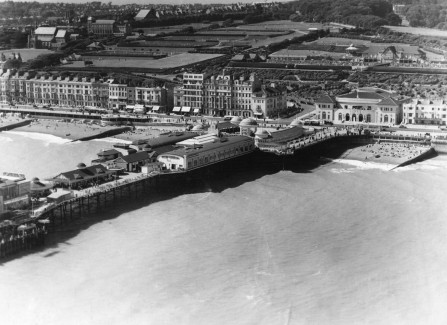 Aerial view of the Pier, 1930s