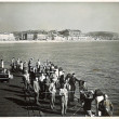 Anglers on the Pier landing stage