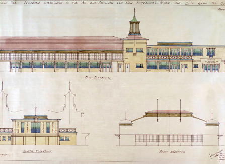 Research document - Illustrations of Hastings Pier Architectural Changes