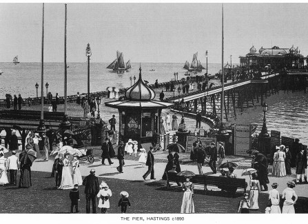 Illustration of the Victorian Pier