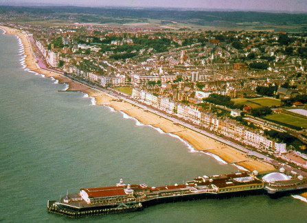 Aerial view of the Pier with Triodome