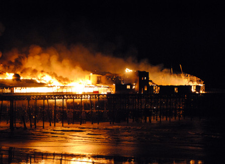 Research Document - 2010 Fire on Hastings Pier