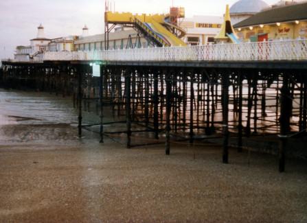 Hastings Pier with funfair