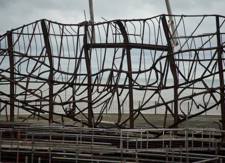 Metal Structure of the Burnt-Out Ballroom