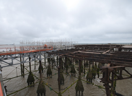 The Pier Head Before Repairs