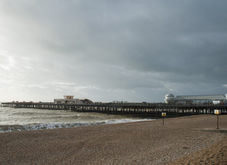 Hastings Pier Nearing Completion, 2015