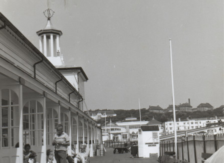 Photograph of Pier Deck, White Rock Pavilion