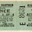 1940s Deck chair ticket