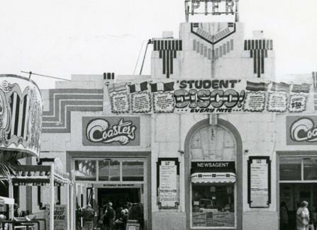 The Art Deco style facade on the Pier