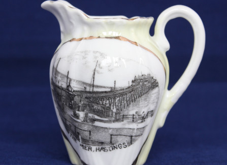An Edwardian souvenir of Hastings Pier