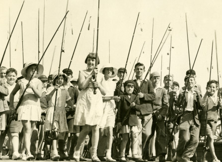 Childrens angling competition
