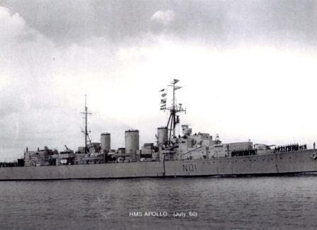 HMS Apollo visit to Hastings