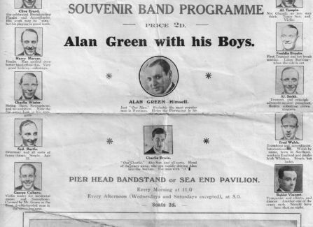 Hastings Pier Souvenir Band Programme, 1932