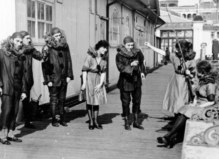 Pierrots on Hastings Pier