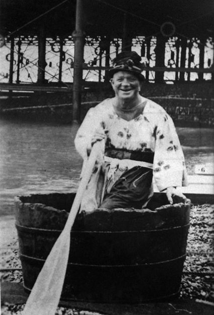 Throughout the first half of the 20th century Biddy the Tubman was a regular feature on the Hastings seafront in the summer months.