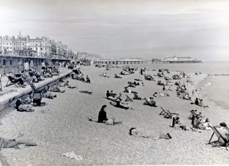Gifford Boyd Photograph of the Lower Parade and Pier, c.1947