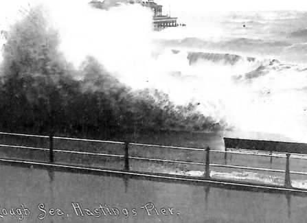 Rough Sea by the Victorian Pier
