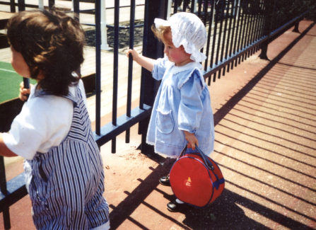 Children on the Pier, 1990s