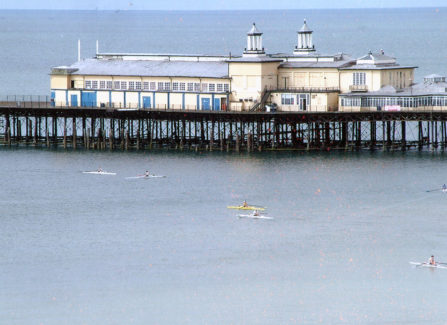 Hastings Pier before the 2010 Fire