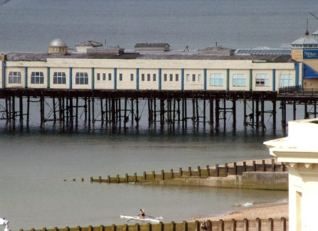 Hastings Pier just before the 2010 Fire