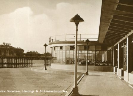 The new solarium and New Palace Pier