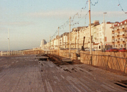 Hurricane Damage on the Pier